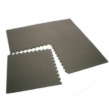 Shop Gray Anti-Fatigue Mat (Common: 4-ft x 4-ft; Actual: 49.21-in x 49.21-in) at Lowes.com