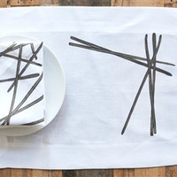 London Placemat and Napkin