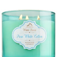 Bath & Body Works 3-Wick Candle in Pure White Cotton (14.5oz/411g)