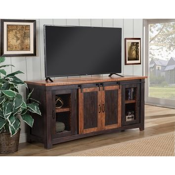 Martin Svensson Home Santa Fe TV Stand | Overstock.com Shopping - The Best Deals on Entertainment Centers