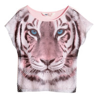 H&M Jersey top with a print 4,95 €