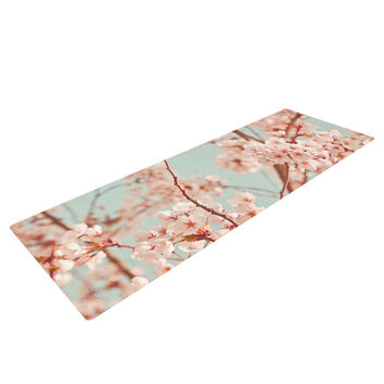 "Iris Lehnhardt ""Blossoms All Over"" Flowers Yoga Mat"