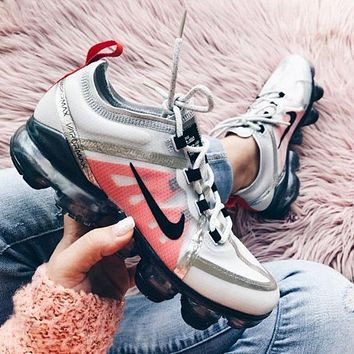 Nike Air Vapormax 2019 Fashion New Women Men Rainbow Sports Leisure Sneakers Shoes