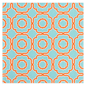 Roseanne Beck Lauren Beverage Cocktail Napkin