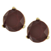Classic Color Studs- Burgundy