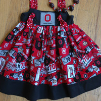 Buckeye Sundress, Ohio State Dress,