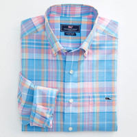 Keelson Plaid Tucker Shirt