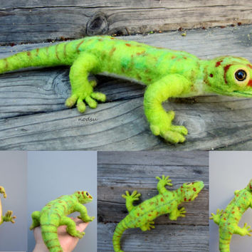 Exotic pet sculpture, custom order, needle felted, weird animals, unique pets, lizard gecko, moth snake, spider, turtle, birds MADE TO ORDER