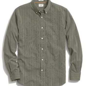 Dockers No Wrinkle Mini Check Shirt - Green - Men's