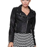 Lira Faux Leather Moto Jacket at PacSun.com