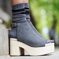 Jeffrey Campbell Womens Chemistry Covered Clog