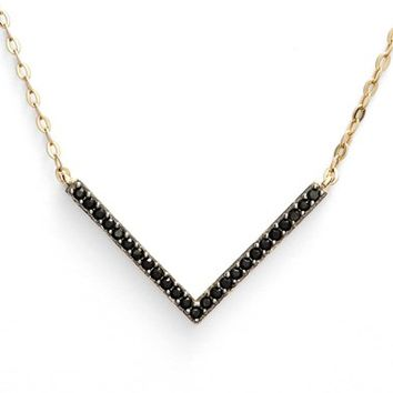 Women's Nadri V-Pendant Necklace