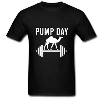Pump Day Men's Workout Shirt. Bodybuilding Shirt. Men's Gym Shirt. Weight Lifting Shirt. Lifting T-shirt. Powerlifting Shirt. Crossfit Shirt