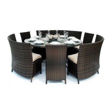 Heritage Loom Madrid Patio Furniture Dining Set (7 Pieces) | Wayfair