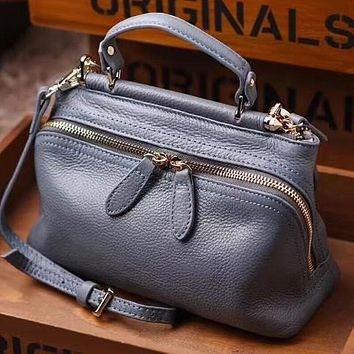 High Quality Genuine Leather Crossbody Handbag