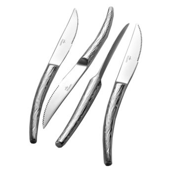 Willow 4 Piece Steak Knife Gift Set - Argent Orfèvres