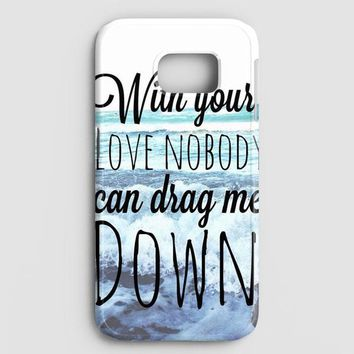 One Direction Drag Me Down Lyric Samsung Galaxy Note 8 Case