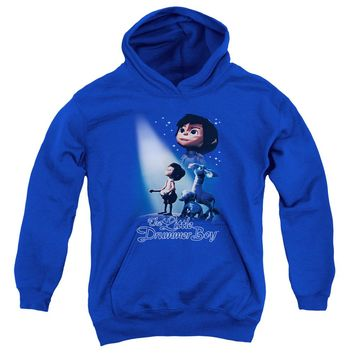 Little Drummer Boy - White Light Youth Pull Over Hoodie