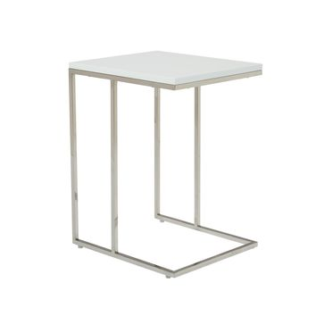Posta Side Table White