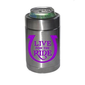 Koozie - Insulated LIVE for the RIDE Stainless Steel or Black
