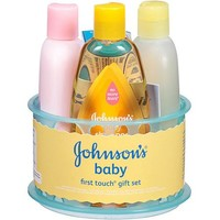Johnson's Baby First Touch Gift Set, 5 pc - Walmart.com