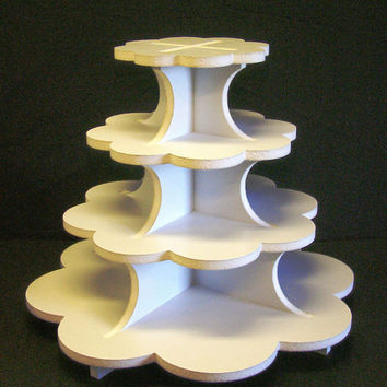 4 Tier Pedal Cup Cake Stand, CupCake Stand, Cup Cake Tower