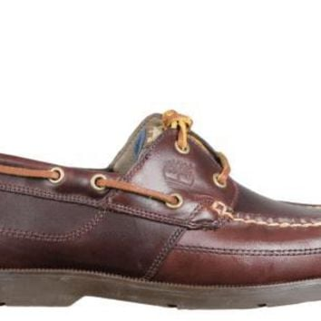 Timberland Mens Boat Shoes Earthkeepers Kia Wah Bay Brown Leather 5230R