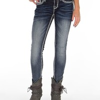 Rock Revival Vivian Mid-Rise Skinny Stretch Jean