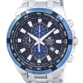 Casio Edifice Chronograph Tachymeter Ef-539d-1a2 Ef539d-1a2 Men's Watch (FREE Shipping)