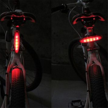Bicycle LED Light 2 Lasers Night Mountain Bike Tail Light Taillight MTB Safety Warning Bicycle Rear Light Lamp Bycicle Light 4A