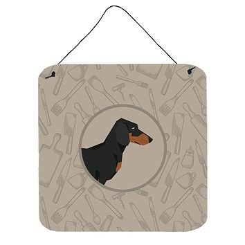 Dachshund In the Kitchen Wall or Door Hanging Prints CK2180DS66