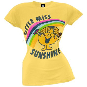 Little Miss - Sunshine & Rainbows Juniors T-Shirt
