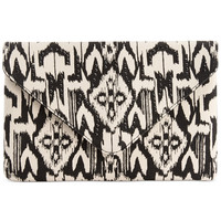 INC International Concepts Earth Tribal Clutch