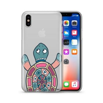 Turtle - Clear TPU Case Cover Phone Case