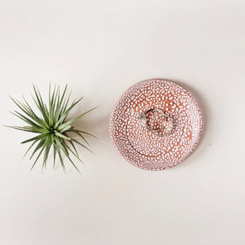 Pebbled Ring Dish - Ring Holder - Jewelry Dish - Small Ceramic Dish - Terracotta Dish