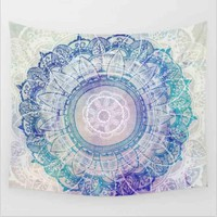 Indian Mandala Tapestry Decorative Wall Hanging Tapestries 150x130cm