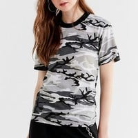 Vintage Colorful Camo Tee | Urban Outfitters