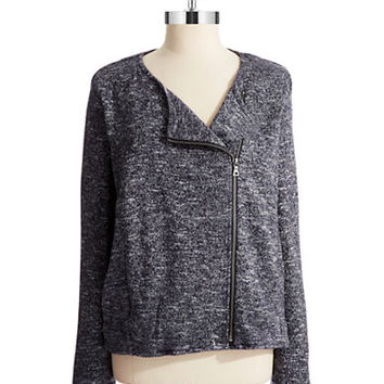 Two By Vince Camuto Asymmetrical Zip Cardigan