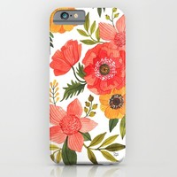 FLOWER POWER iPhone & iPod Case by Oana Befort | Society6