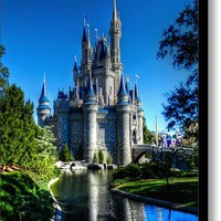 Disney Hdr 002 Stretched Canvas Print / Canvas Art By Lance Vaughn