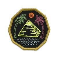 Beachy Pyramid Patch