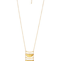 FOREVER 21 True Beauty Pendant Necklace Gold One