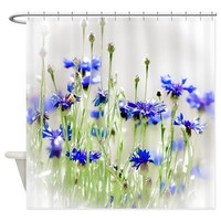 SO MANY FLOWERS, SO LITTLE TIME SHOWER CURTAIN