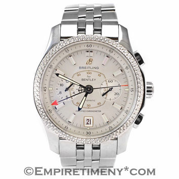 Breitling Bentley P26362 Stainless Steel White Dial Automatic Men's Watch