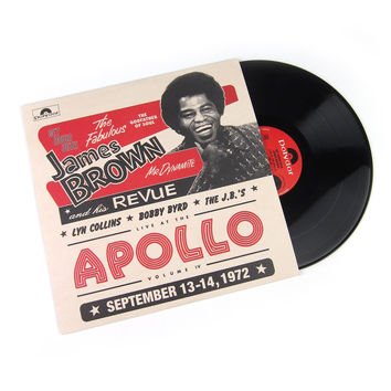 The James Brown Revue: Live At The Apollo 1972 Vinyl LP (Record Store Day)