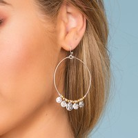 Fiesta Nights Earrings - Silver