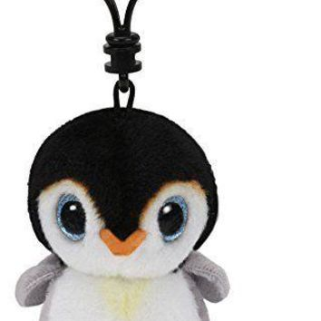 Pongo The Penguin Ty Beanie Clips Keychain