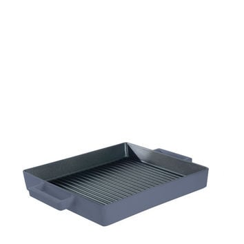 Terra Cotto Cast Iron Square Grill Pan | Myrtle