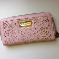 BETSEY JOHNSON | Pastel Pink / Gold | Wallet