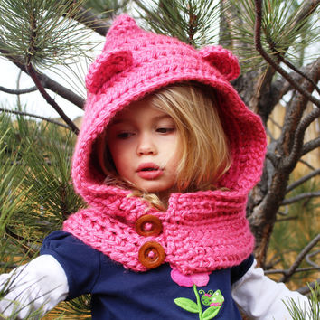Best Crochet Toddler Hooded Cowl Products On Wanelo
